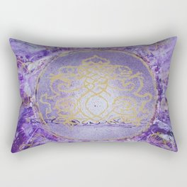 The Crown Chakra Rectangular Pillow