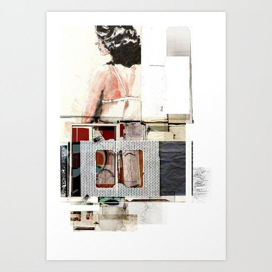 CERTAIN PREMIUM OF ALONENESS Art Print