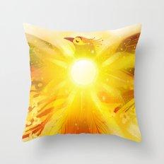 Shine Through Throw Pillow