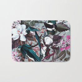 Floral and Birds XXIV Bath Mat