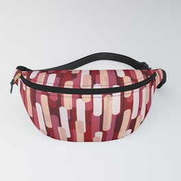 Fast Capsules Red Fanny Pack