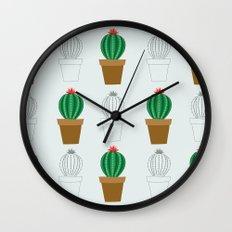 C13D Cactus Wall Clock