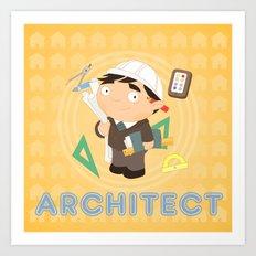 Architect Art Print