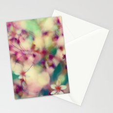 Abstract Spring Stationery Cards