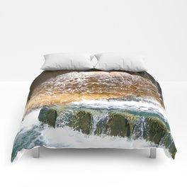 Colorful Water Drain Comforters