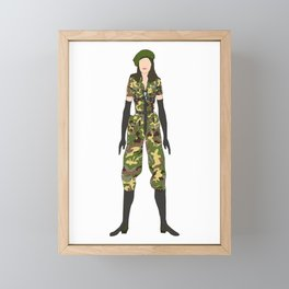 Madge 11 American Life Framed Mini Art Print