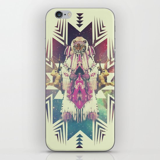 Tiger Chaman  iPhone & iPod Skin