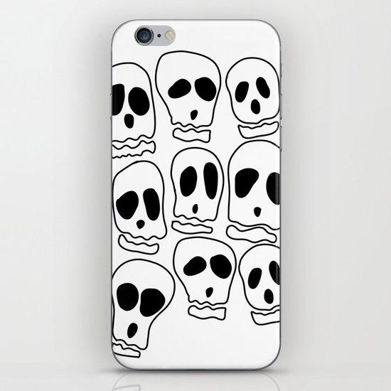 Skulls-1 iPhone & iPod Skin