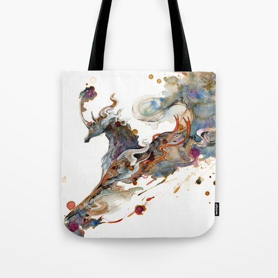 Kirin Unicorn Tote Bag