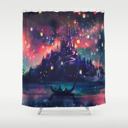 The Lights Shower Curtain