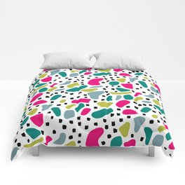 Cheerful Abstract Comforters