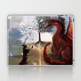 The Owl,Wizard,Unicorn and the Dragon Laptop & iPad Skin