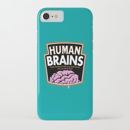 Human Brains iPhone Case