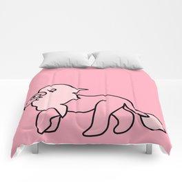 Pink Floof Comforters