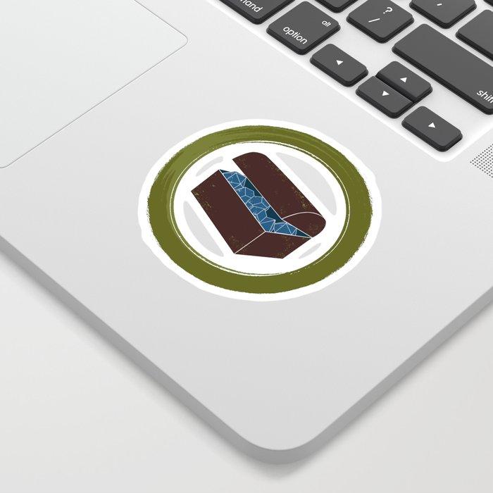Hidden Burrow Chest Logo Sticker