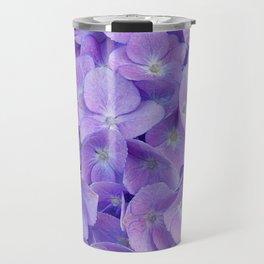 Hydrangea lilac Travel Mug