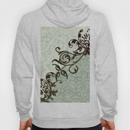 Soft green vintage  art Hoody
