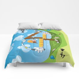 Fore of Clubs Comforters