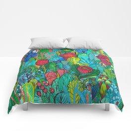 Kingdom of Plants Comforters