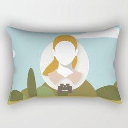 Moonrise Kingdom - Suzy Bishop (Kara Hayward) Rectangular Pillow