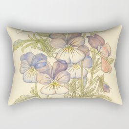 "Charles Rennie Mackintosh ""Flowers & Plants"" (3) Rectangular Pillow"