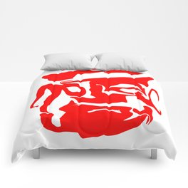 face3 red Comforters