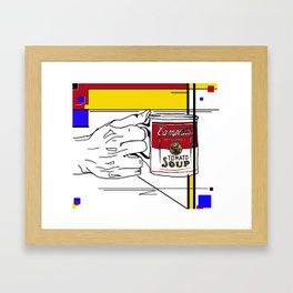 Campbell's Condensed Framed Art Print