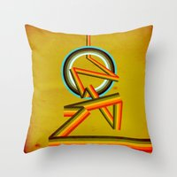Where are we going Throw Pillow