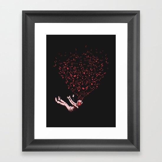 Imagine Framed Art Print