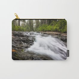 Rush - Paradise River Rushes to Falls in Mt. Rainier National Park Carry-All Pouch