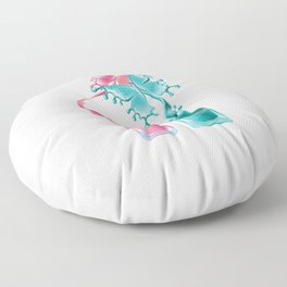 Manicurist Manicure Nail Art Cosmetics Beautician Nail Tech Nail Polish Butterfly Gift Floor Pillow