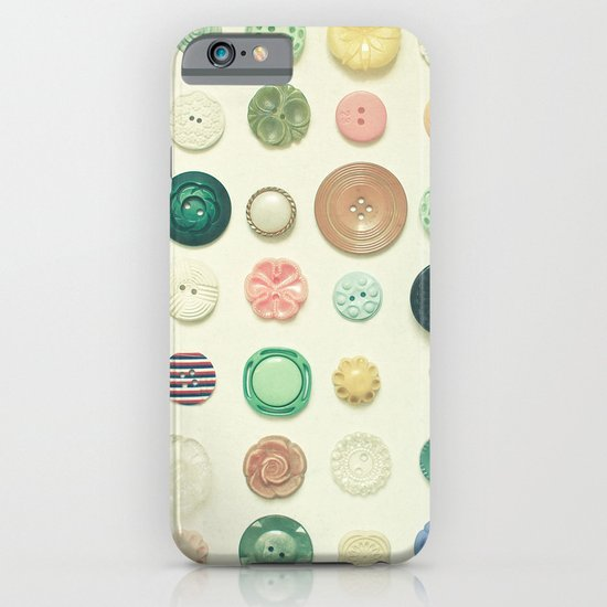 The Button Collection iPhone & iPod Case