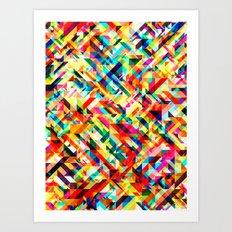 Summertime Geometric Art Print