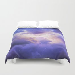 The Skies Are Painted III Duvet Cover