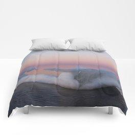 Viking Iceberg Ship Comforters