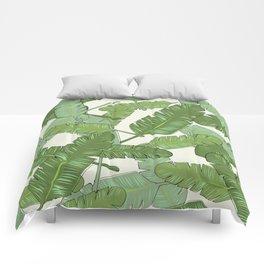 Banana Leaf Print Comforters