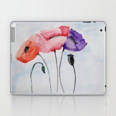 Poppies no 3 Laptop & iPad Skin