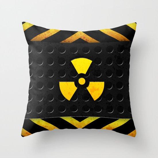 Nuclear Reactor Throw Pillow
