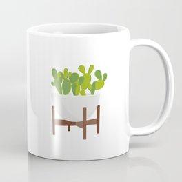 Cactus in Planter Coffee Mug