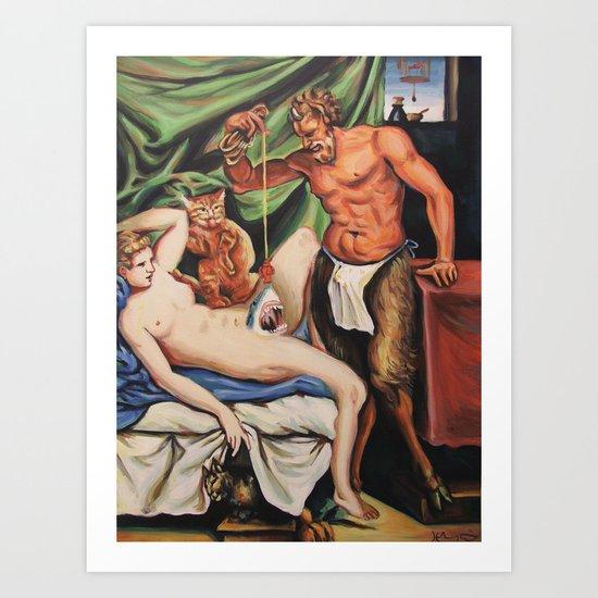 Ye Olde Jawrotica Art Print
