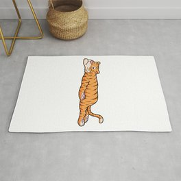 Tiger is Resting Rug