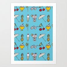 Summer! Art Print