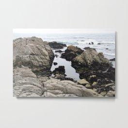 Calm Water Bed Metal Print