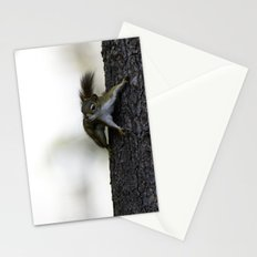 Baby Red Squirrel Stationery Cards