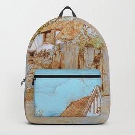 Samuel Palmer - Ivy Cottage, Shoreham - Digital Remastered Edition Backpack
