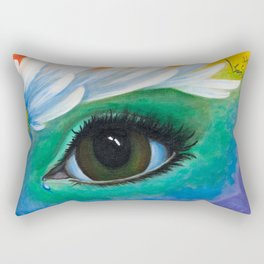 Window To The Soul Rectangular Pillow