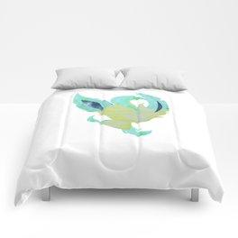 Watercolor Leafeon Comforters