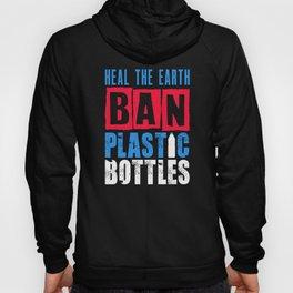Ban Plastic Pollution Planet Earth Oceans Marine Life design Hoody