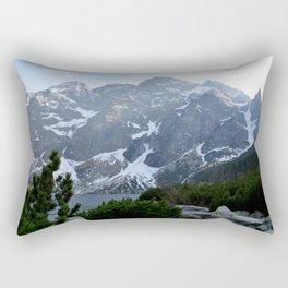 Morskie Oko - Tatry Mountains Rectangular Pillow