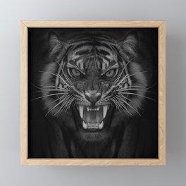 Heart of a Tiger Framed Mini Art Print
